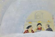 奥村土牛 「かまくら」38×55.3cm