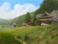 辰巳恵理「山の辺の春」10P