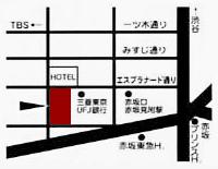 赤坂乾ギャラリー地図