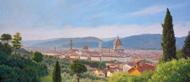 「花の都フィレンツェの眺望」 15号変形 318x727