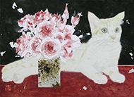 平田望「猫と薔薇」4F