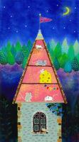 第2回 前田伸子ガラス絵展  -詩情と色彩の世界-