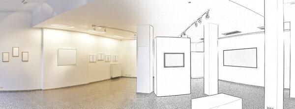 全国百貨店の美術画廊企画