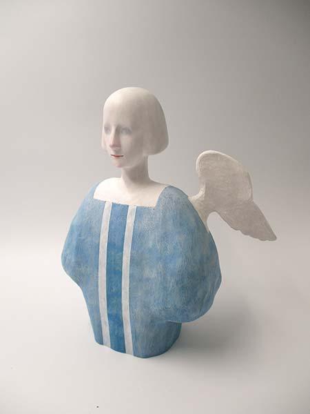 竹下真澄 「天使の梯子」 H22.5×W20×D12cm
