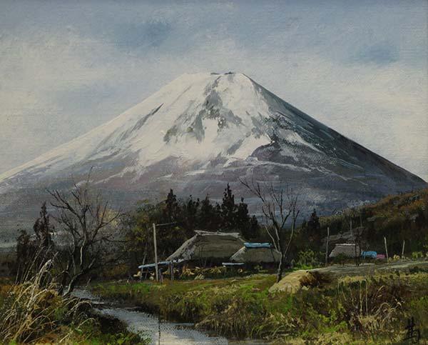 林喜市郎 「忍野富士」 3F