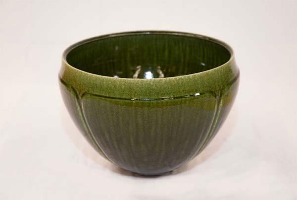 伊藤進矢「緑釉花器」