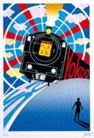 「Yoyo 2003」 2003年29.7×21.0㎝ シルクスクリーン
