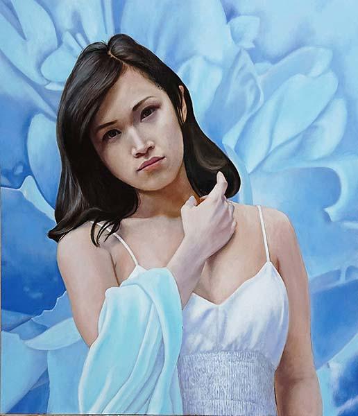 星野清和 「Light blue ~ありのままで~」 F10
