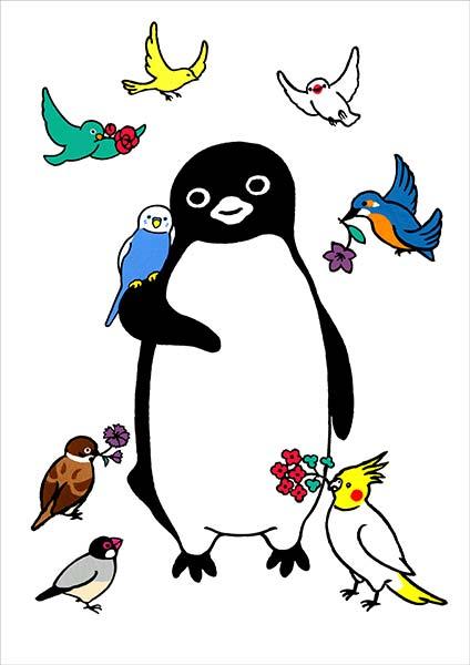 坂崎千春 「ペンギン花鳥園」 (515x728)