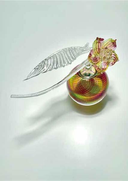 佐々木伸佳 「花の器」 幅27.5×奥行12.5×高さ23cm