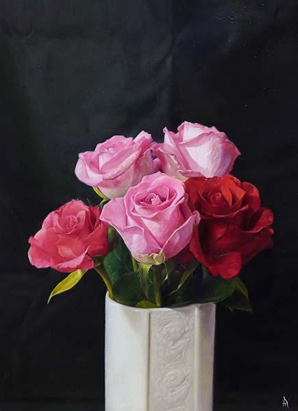 「薔薇」 F4