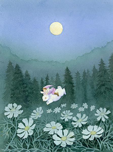 『月あかり』