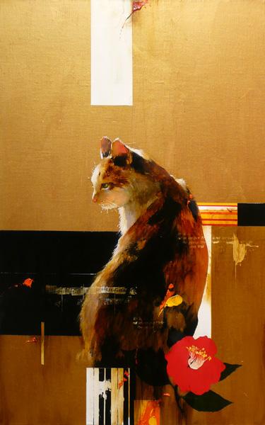 『三毛猫』  10M