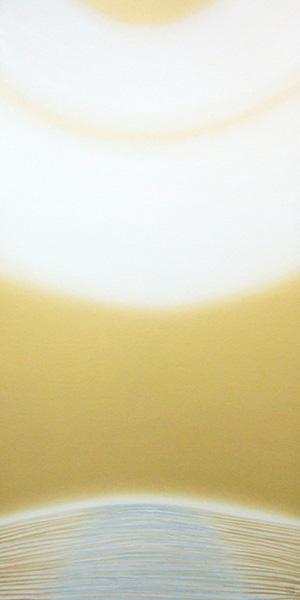 『CURRENT B-91 宇宙の光 The Light of Universe』  180 x 90 cm