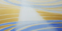 「CURRENT B-79 愛の光 The light of Love」 90 x 180 cm
