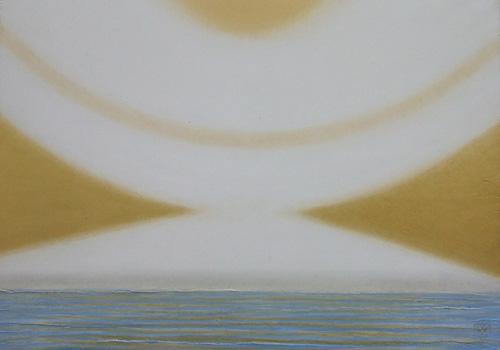 『current w-1405富士山から宇宙へo the Universe』  26.5x37.5cm