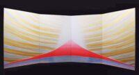 「CURRENT B-104 宇宙の愛の降臨」 175cmx112cmx4枚組