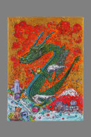 『龍神と赤富士』 4号