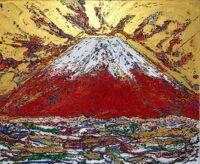 「天空の赤富士」 F8