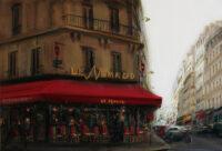 「モンパルナスのカフェ」 20M