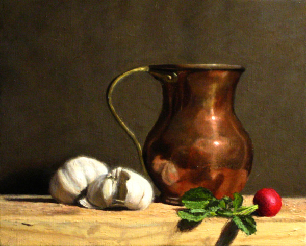 『Red Turnip and Garlics』  3F