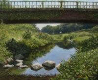 「野川の橋」 8F