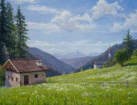 「北イタリアの牧草地」 10P