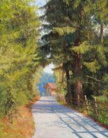 「木々を抜ける道」 6F