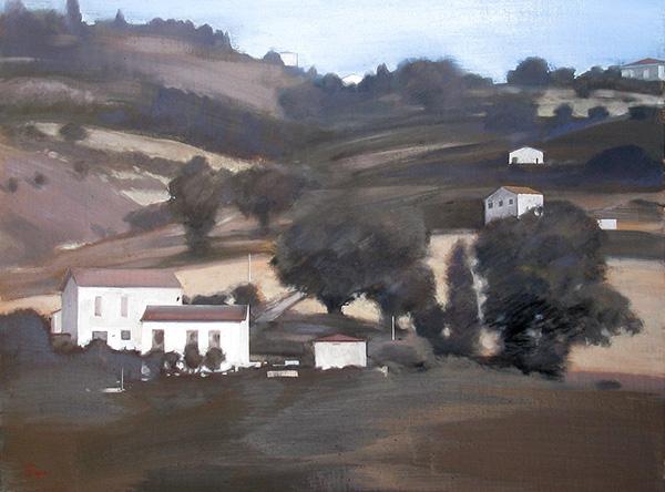 『丘の風景』  P12