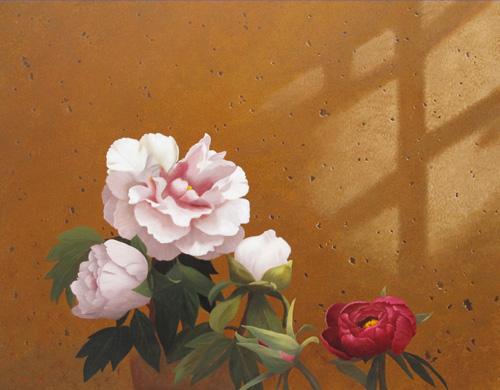 『窓辺の牡丹』  6F