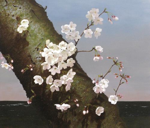 『丹下の桜』  F10