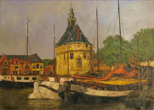 『ホールンの港』 P8
