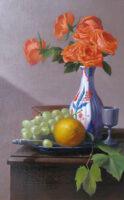 「composizione arancia e verde (オレンジと緑の構成)」 10M