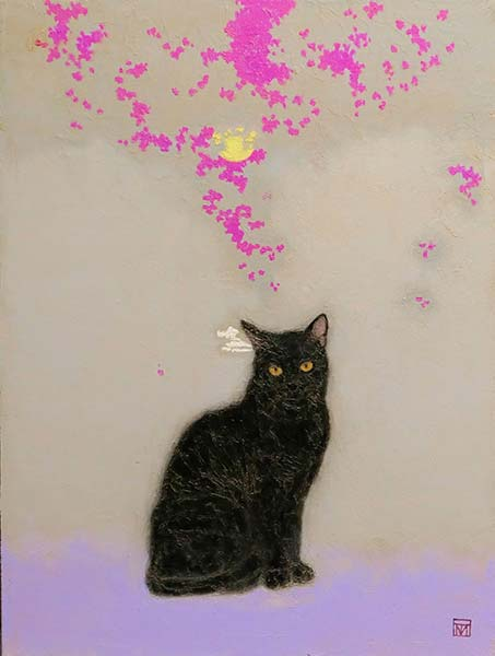 「森の黒猫」 P10