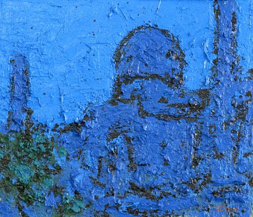 「青きモスク」  F10