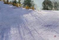 「雪笹」 M12 606×409mm