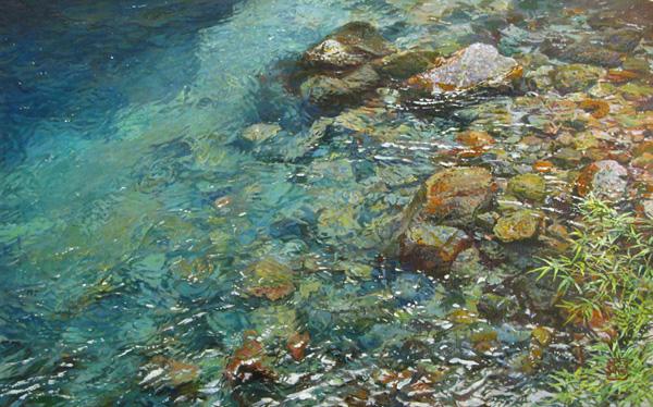 「水の色」  M10
