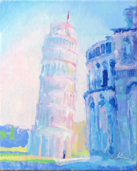 『ピサの斜塔』  F3