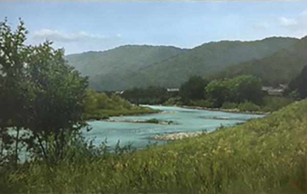 「夏の川」  10M