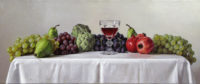 「豊穣の杯」 34×91cm