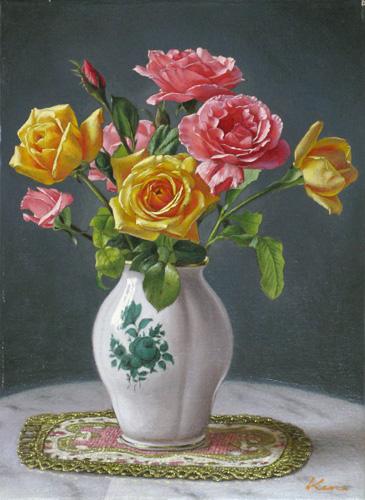 『薔薇の花瓶』  4F