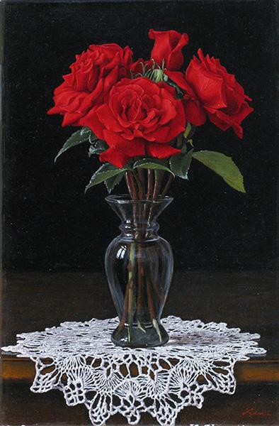 『真紅の薔薇』  6P
