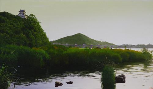 「古(いにしえ)の春の山河」  6M