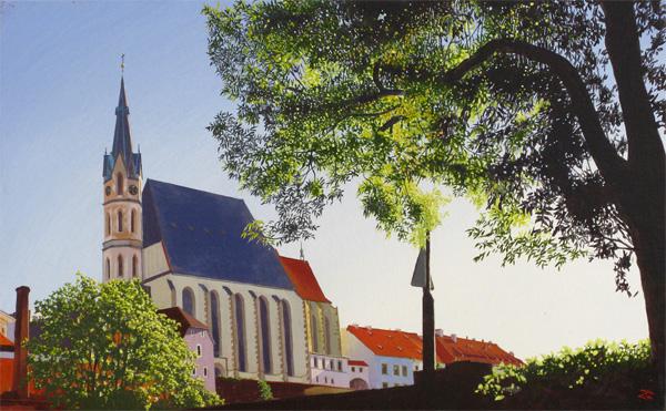 『朝の聖ヴィート教会』  M10