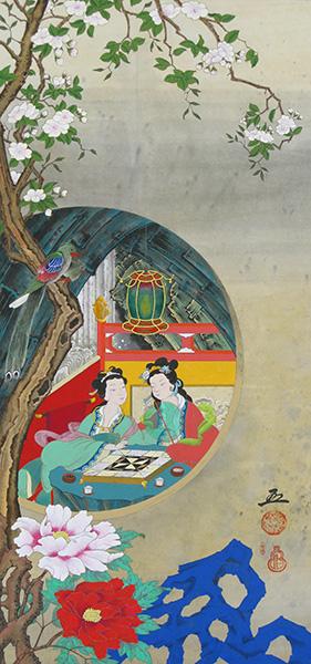 「妙香園」  80×38cm