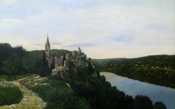 「峡谷の村エゲーズ」  10M
