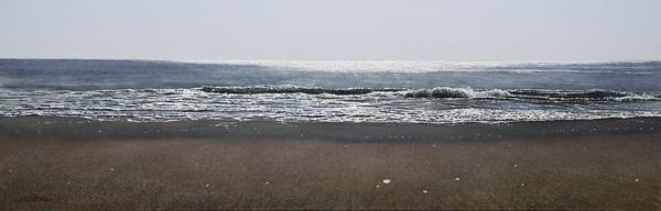 『さざ波の旋律 ブルターニュ』  23.7×72.7cm