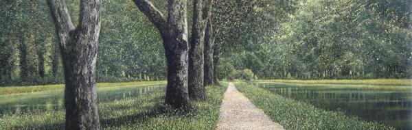 「森の幻想」  30.0×90.9cm