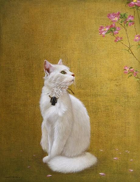 『薫風白猫図』  10P