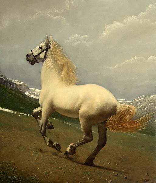 「駆ける白馬」 10F